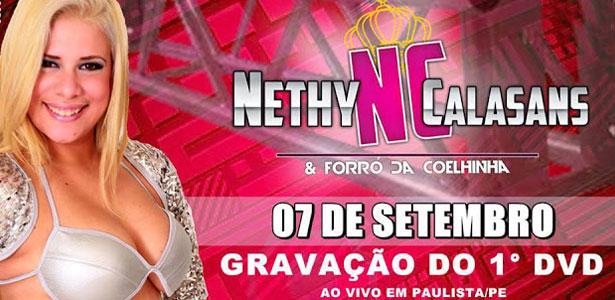 Nathy Calasans, anuncia gravação de DVD