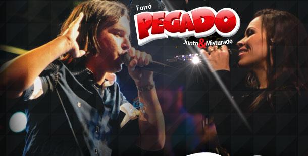 FORRÓ PEGADO NOVO CD PROMOCIONAL
