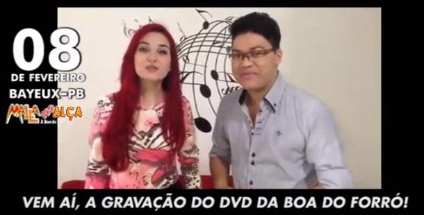 Vocalistas do Malla 100 Alça, convocação para o DVD