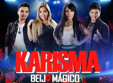 """""""Beijo mágico"""" o novo CD da Banda Karisma"""
