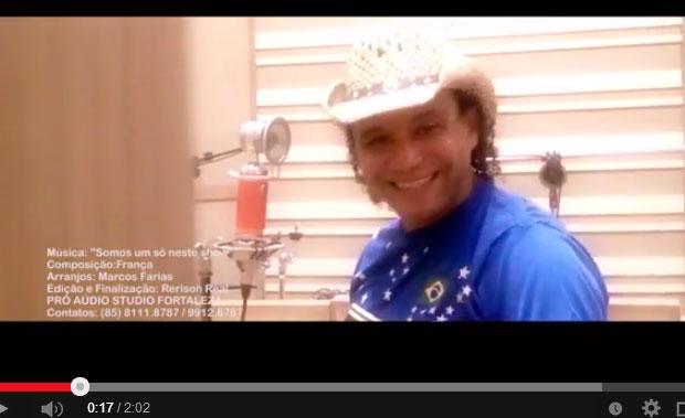 França lança canção com a temática 'Copa do Mundo 2014'