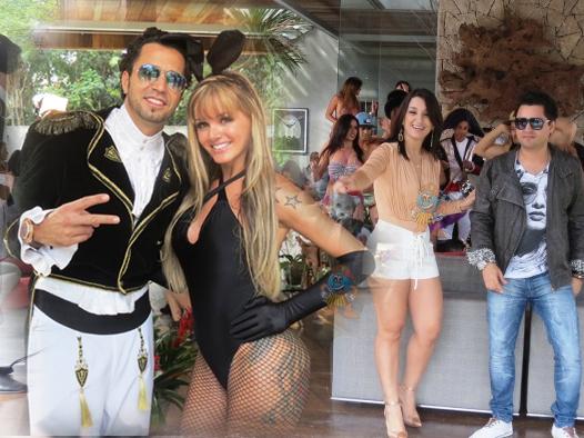 Forró dos Plays lança clipe com participação de Latino e modelo Thalita Zampirolli