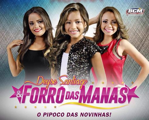 Forró das Manas chega com cd promocional