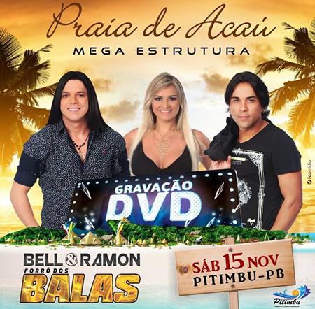 Forró dos Balas grava seu novo DVD em praia da Paraíba
