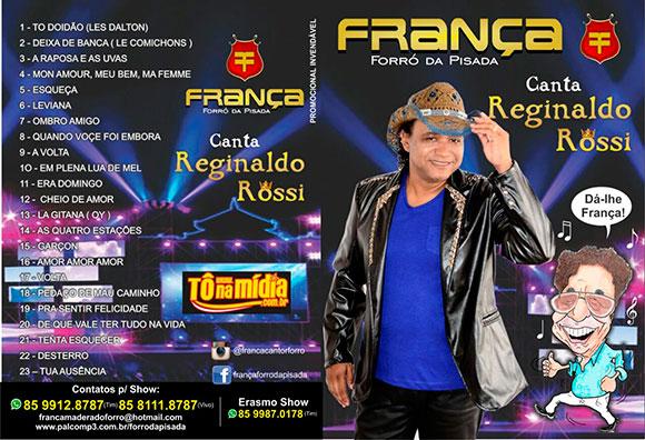 França & Forró da Pisada homenageia Reginaldo Rossi