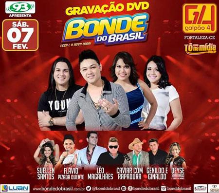 Bonde do Brasil Grava novo DVD hoje em Fortaleza-CE