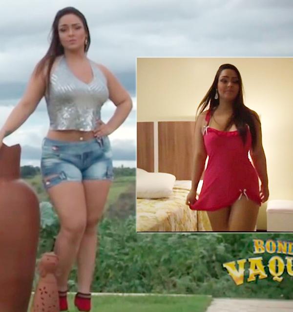 Mulher Melancia participa de clipe do Bonde do Vaqueiro