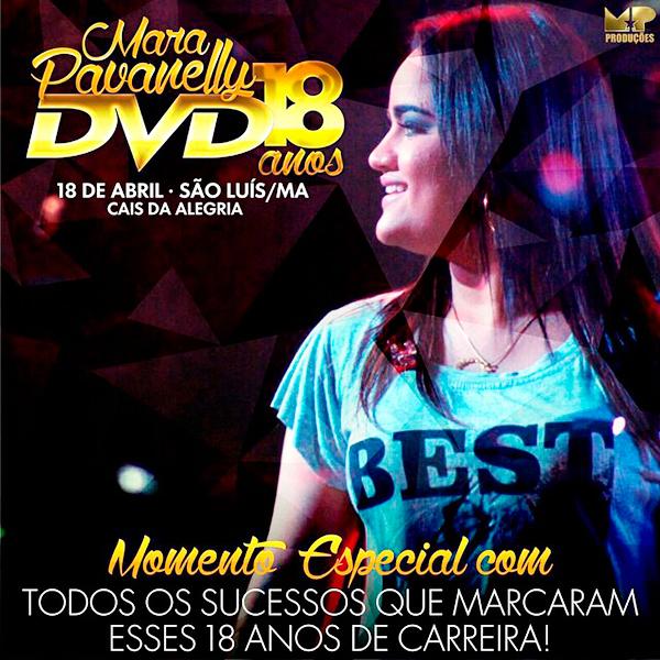 Mara Pavanelly Grava DVD para celebrar 18 anos de carreira