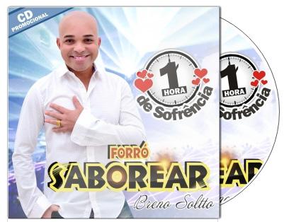 Forró Saborear lança cd uma hora de sofrência