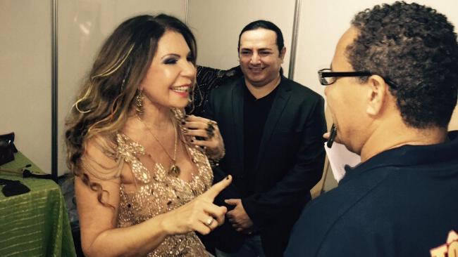 Elba Ramalho encanta o público na festa nordestina de São Caetano