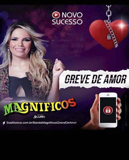 """Na voz de Samya Maia, Banda Magnificos lança """"Greve de Amor"""""""
