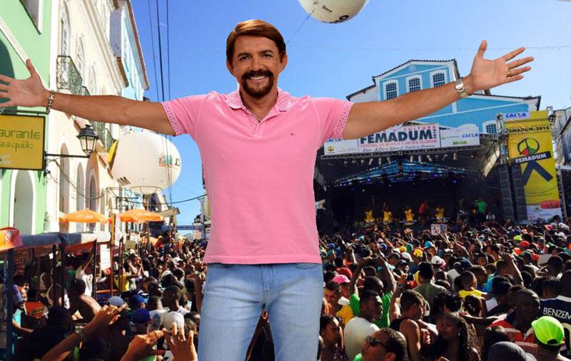 Adelmario Coelho e Olodum juntos no Femadum 2016