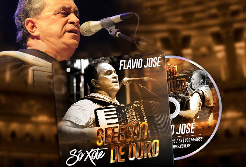 Flávio José lança cd 'Seleção de Ouro' só xote