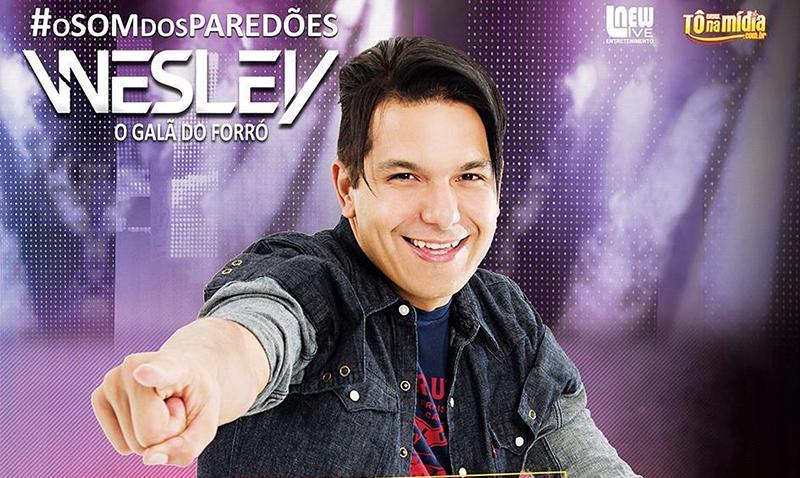 Wesley grava segundo DVD em São Paulo