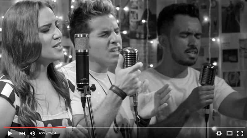 Vocalistas do Mastruz com Leite, Ana Amélia, João Filho interpretam músicas acústicas