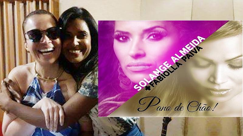 'Pano de Chão' música reúne Fabíolla Paiva e Solange Almeida
