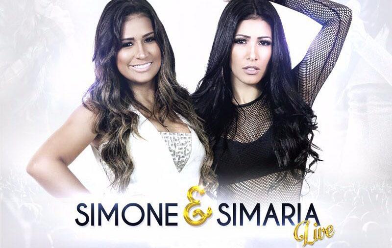 Simone e Simaria se preparam para gravação do DVD em Goiânia
