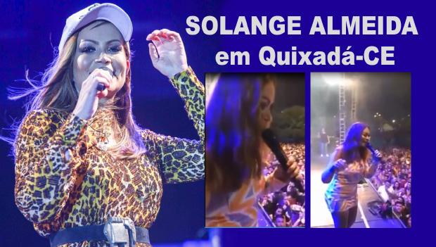 Solange Almeida solta palavrão. 'Um Show do Cara…'