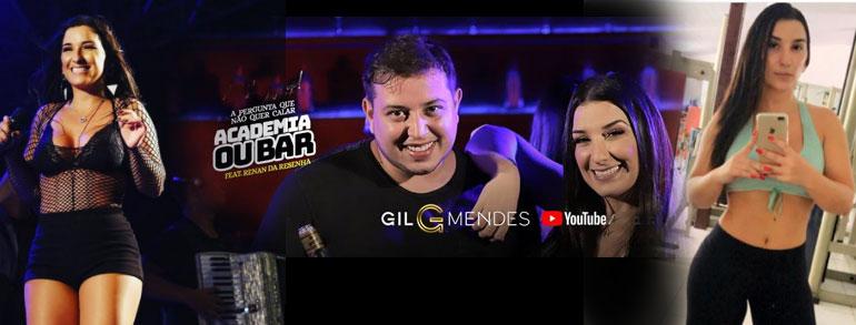 'Academia ou bar?' novo vídeo clipe de Gil Mendes