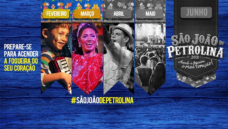 São João de Petrolina 2018 já deu o pontapé inicial com enquete de atrações
