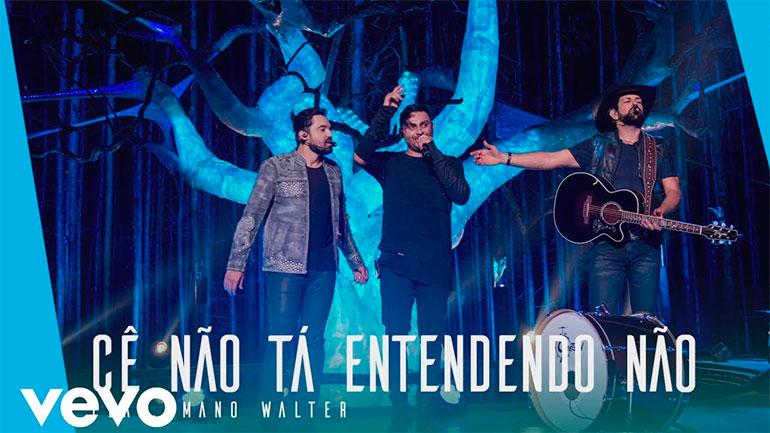 Mano Walter participa do DVD de Fernando & Sorocaba