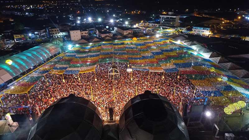 São João de Santo Antônio de Jesus-BA terá público acima de 100 mil pessoas por dia