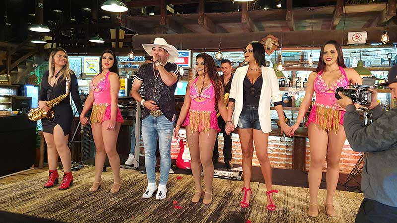 Soró Silva grava DVD no Rancho Comanche em SP