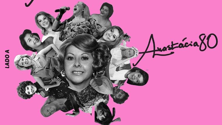 """Anastácia lança """"Anastácia 80 – Lado A"""", comemorando oito décadas de vida"""