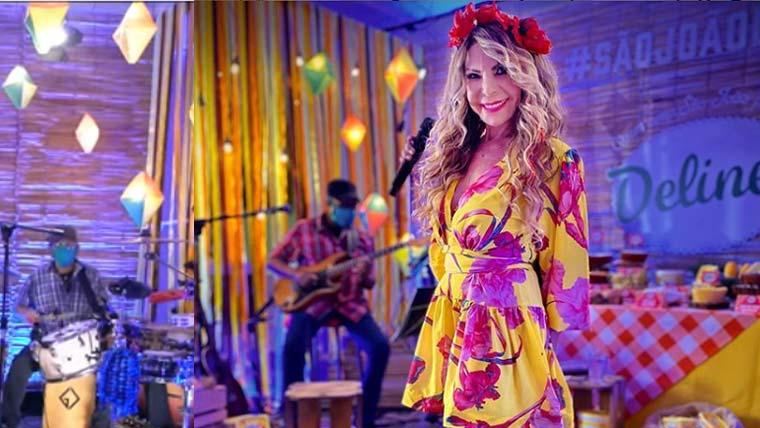"""Elba Ramalho se emociona e """"chora"""" na Live de São João"""