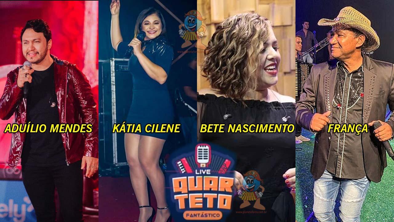 Live Quarteto Fantástico do Forró vai reunir os ex-Mastruz com Leite
