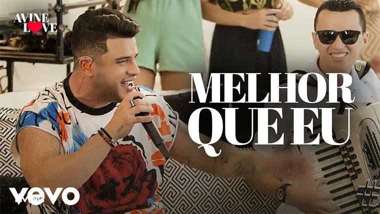 """Ávine lança o álbum """"Ávine Love"""" com o single """"Melhor Que Eu"""""""