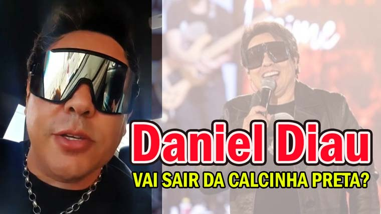 Daniel Diau grava stories esclarecendo: Não vou sair da Calcinha Preta