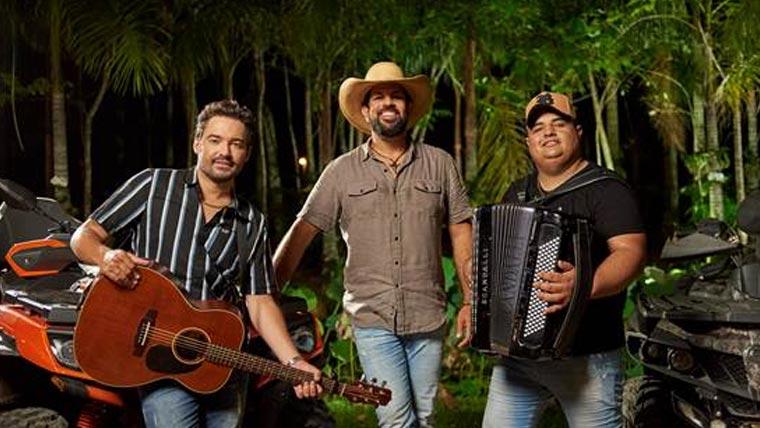 """Fernando e Sorocaba e Tarcísio do Acordeon se unem em novo single """"Só Não Divulga"""""""