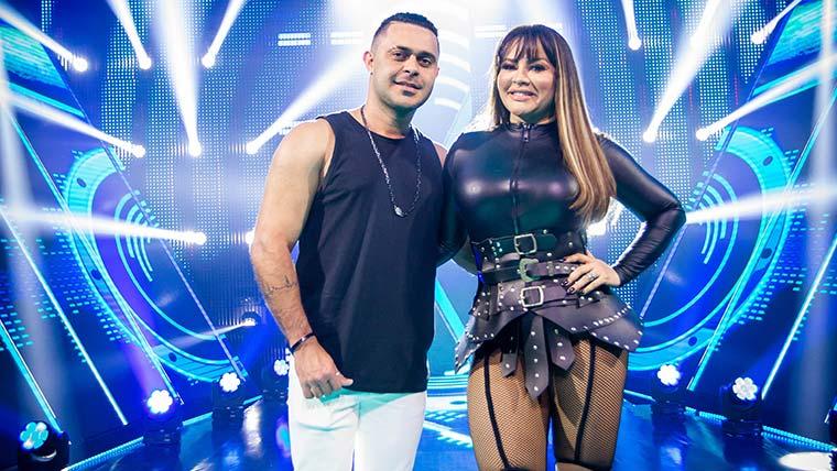 Márcia Fellipe e Rod Bala estão no Power Couple Brasil